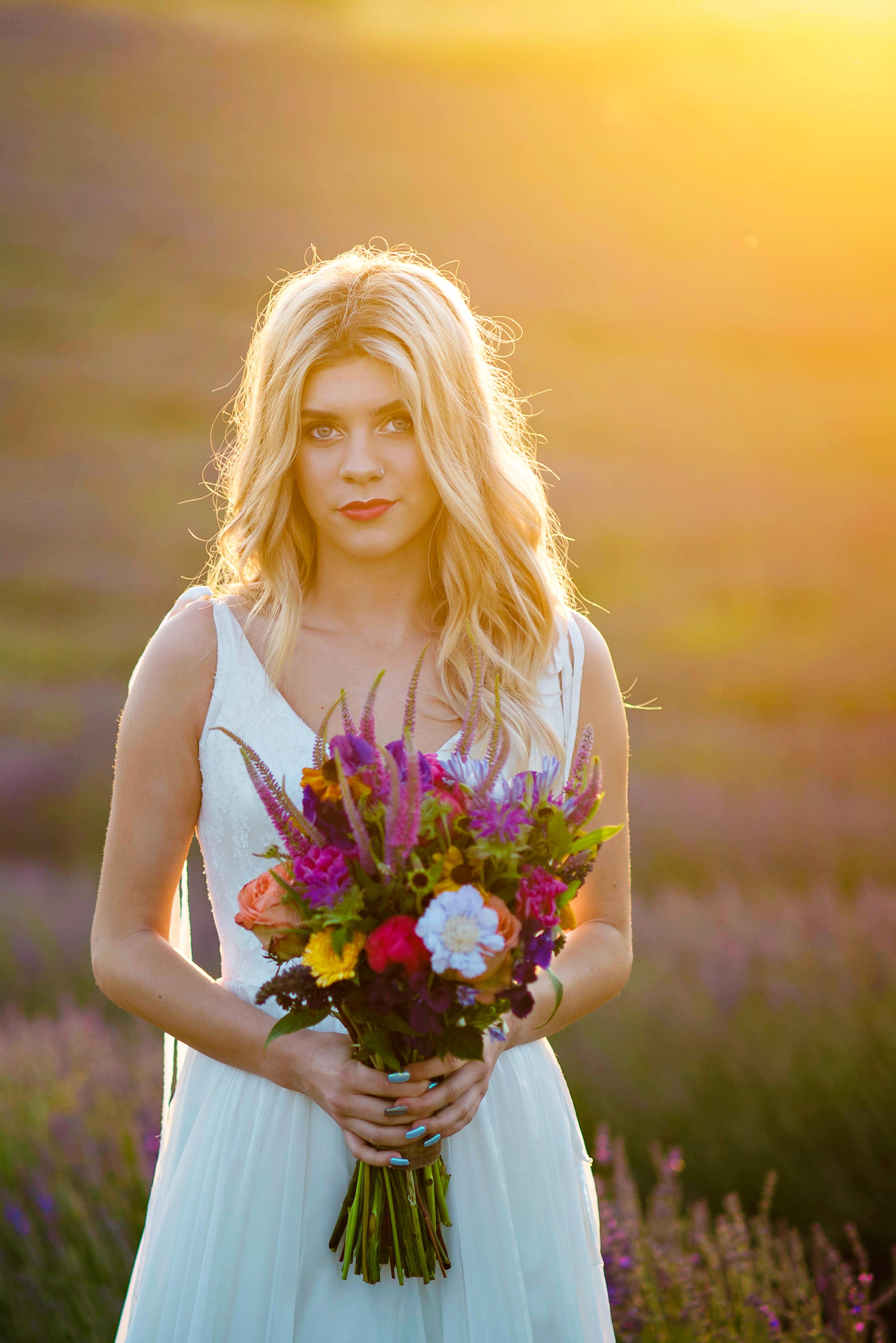Lordington Lavender Bridal Shoot-33