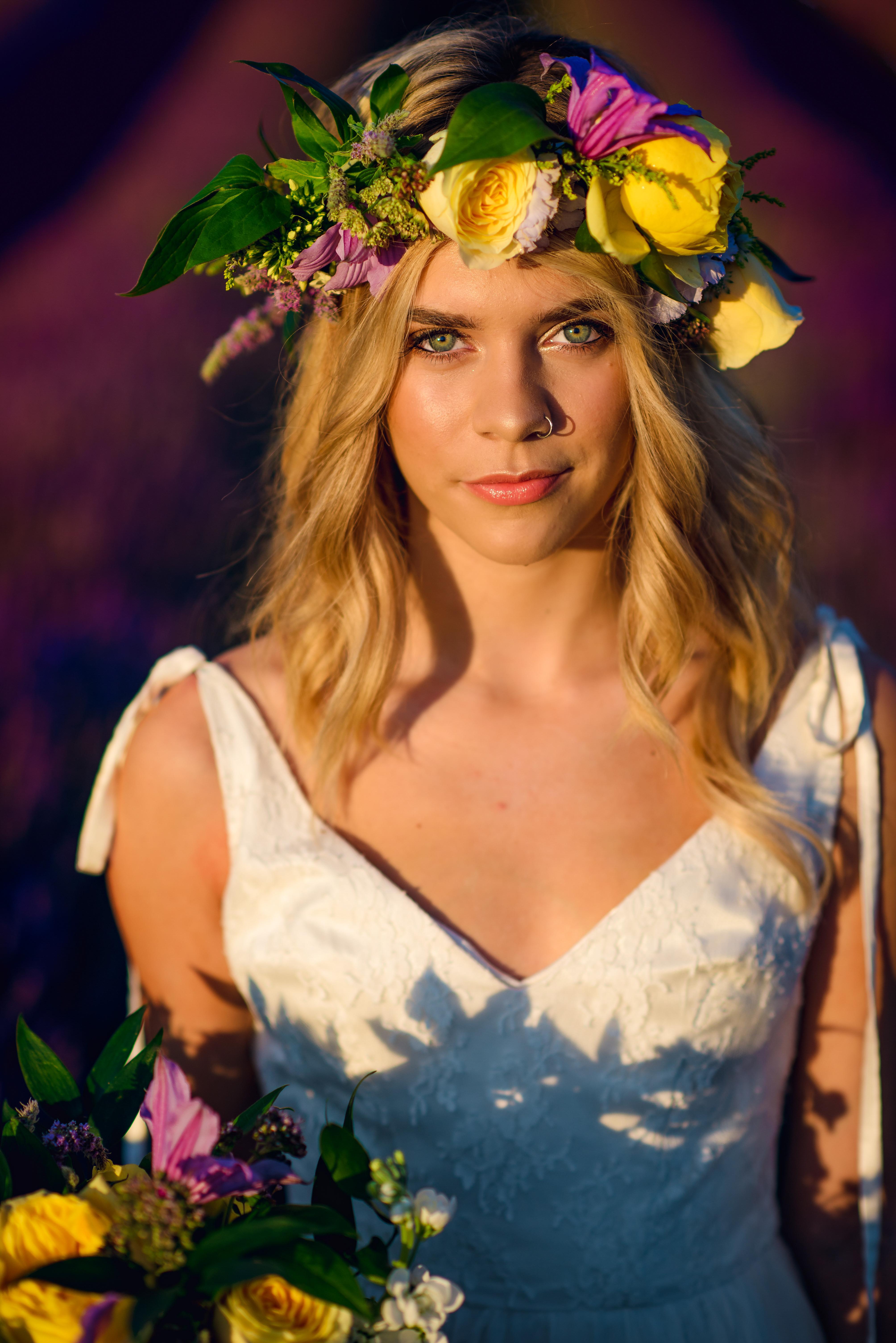 Lordington Lavender Bridal Shoot-12
