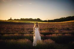 Lordington Lavender Bridal Shoot-21