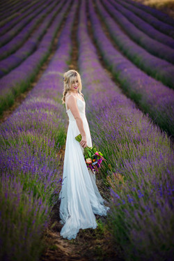 Lordington Lavender Bridal Shoot-35