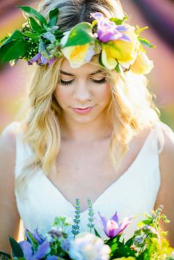 Lordington Lavender Bridal Shoot-9