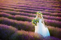 Lordington Lavender Bridal Shoot-17