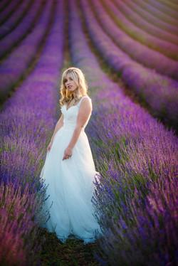Lordington Lavender Bridal Shoot-23
