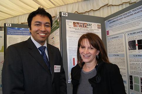 Arjun Ghosh & Lynne featherstone MP.jpg