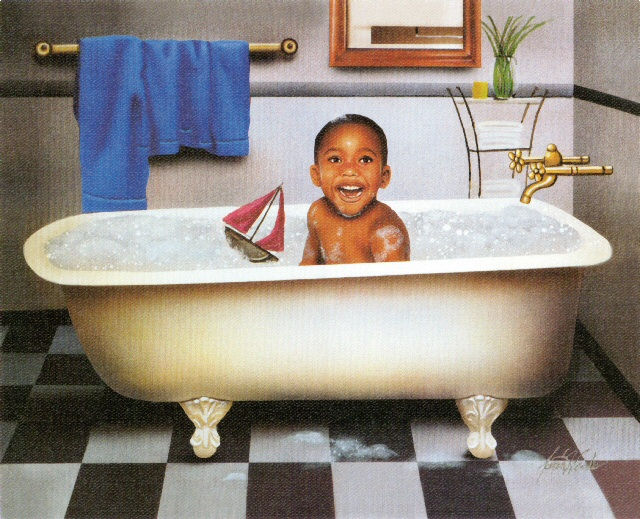 Tub Time-Boy