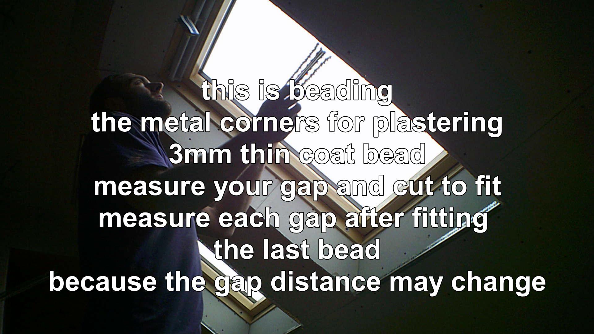 metal beading for plaster work