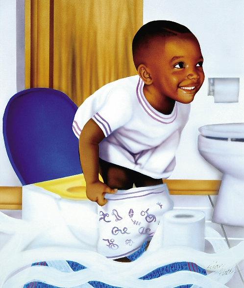 Potty Kid-Boy
