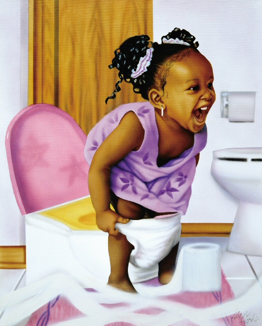 Potty Girl