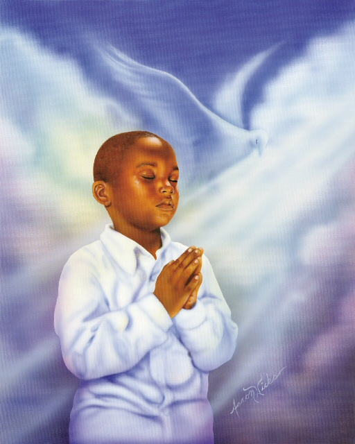 Praying Boy