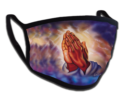 Praying Hands Face Mask