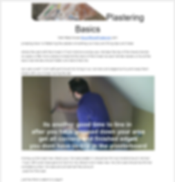 Plastering Guide sample