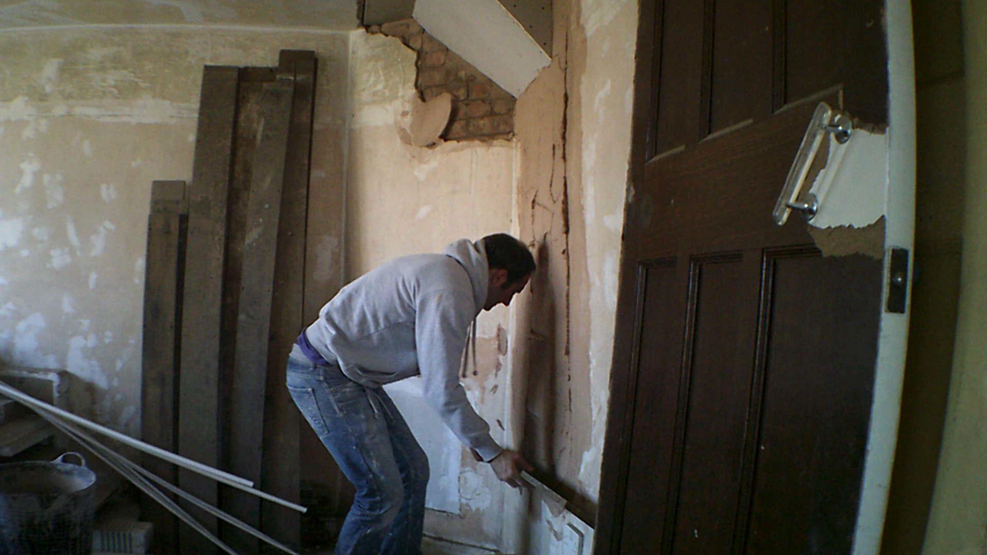 plaster undercoat browning