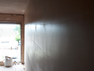 Another beautifully plastered wall by stuart kentish- plastering guideh