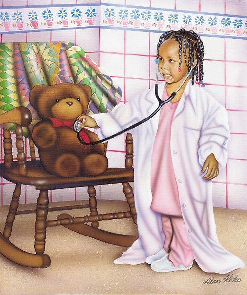 Little Doctor Girl