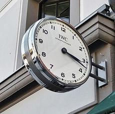 Uhren im öffentlichen Raum