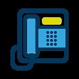 Telekommunikation Icon IT Unternehmen Smart IT Team Regensburg