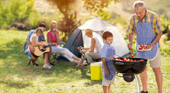 Camping and Barbecue