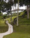 Iconic garden terrain