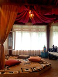 Arabian style common area