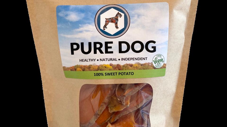 100% Pure Sweet Potato Treats (v)