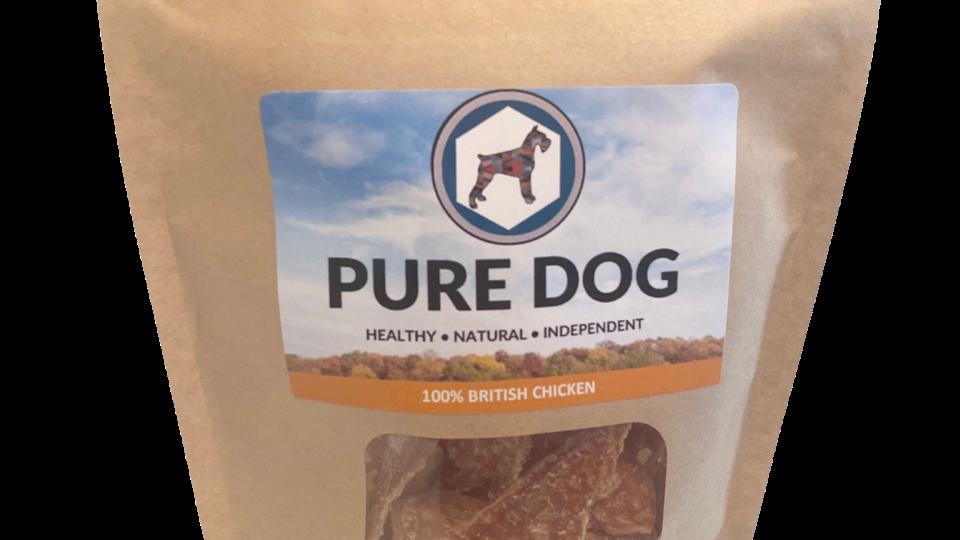 100% Pure Chicken Treats