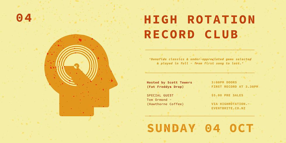 High Rotation Record Club 04