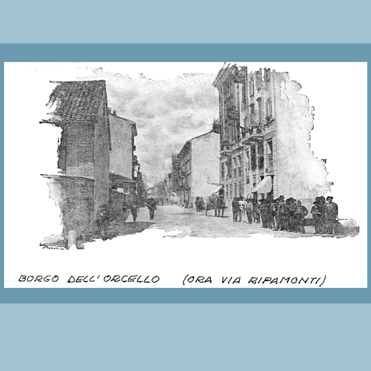 Borgo dell'Orcello, ora Via Ripamonti.