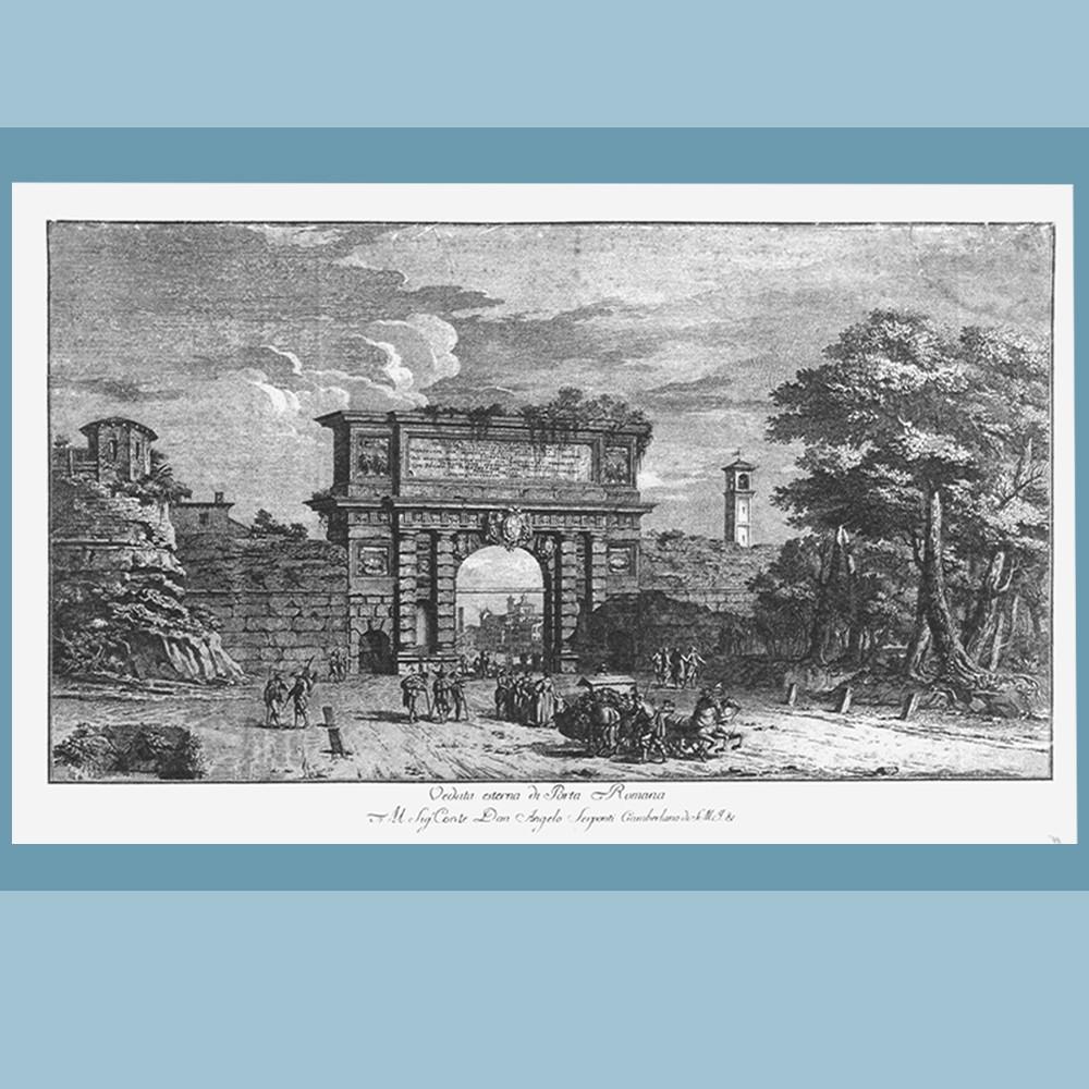 Porta Romana (vista da Corso Lodi)