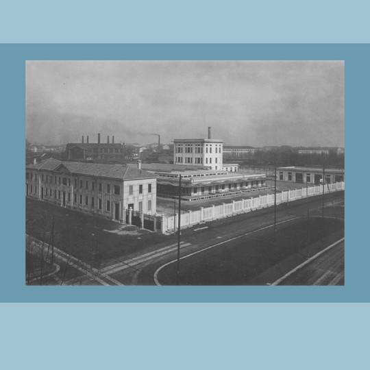 Anni ' '30 –La prima Centrale del Latte