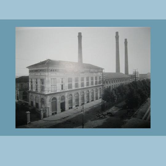 1905 Centrale Termica di Piazza Trento