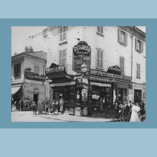 1905 – La Drogheria Madini  (Archivio F.lli Branca)