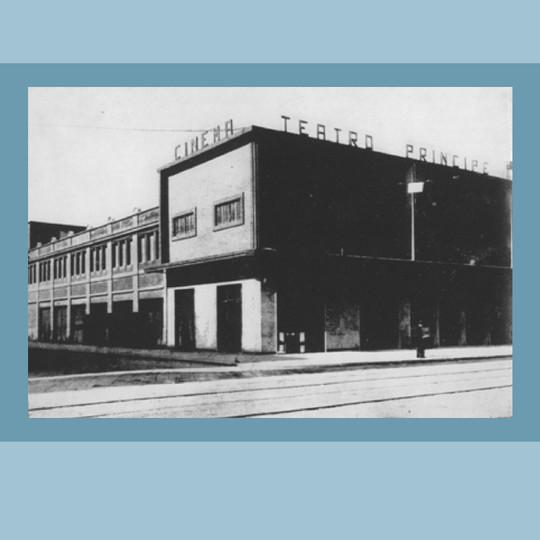 1927 - Il Teatro Principe in Viale Bligny