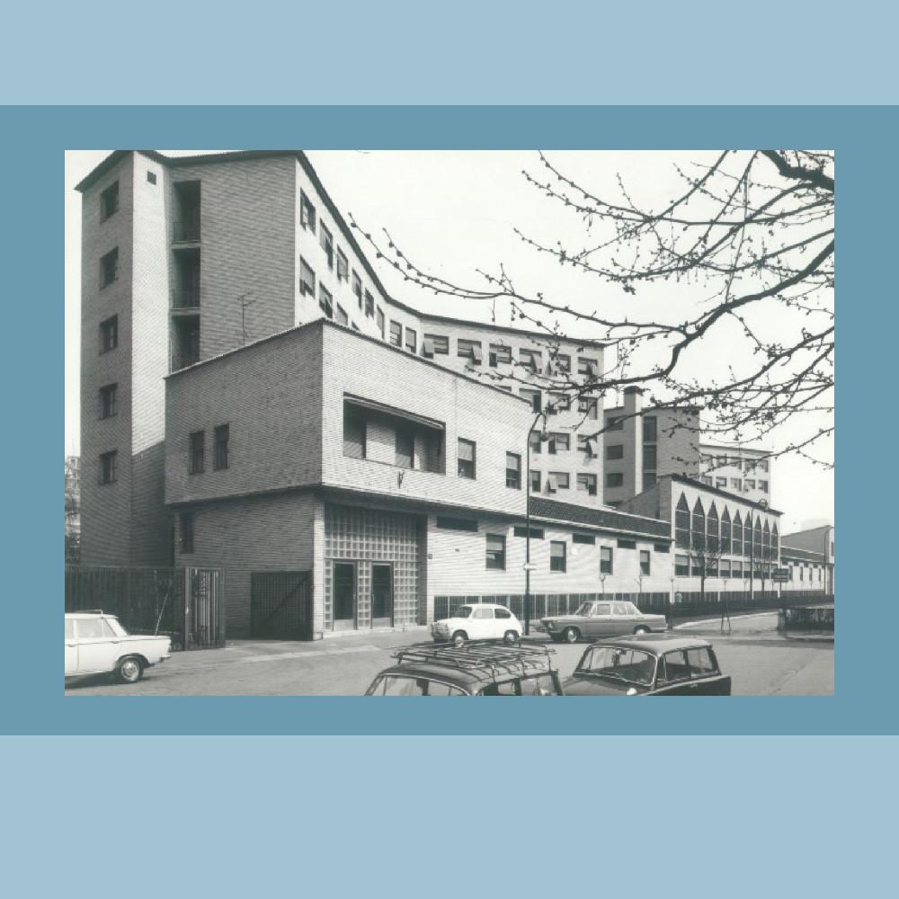 1956 - Il pensionato studentesco - (foto  Archivio Resti - Biblioteca Bocconi)