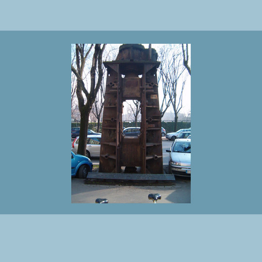 1973 -  'La Pressa' - Monumento a Roberto Franceschi.