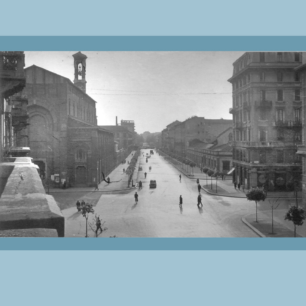 Anni 30 , Via Giulio Romano (Foto V.Salasco)