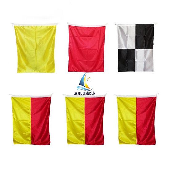 LIFEGUARD FLAG SET 6