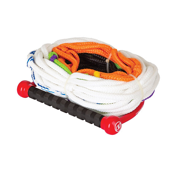 O'BRIEN 8-SECTION FLOATING SKI ROPE & HANDLE