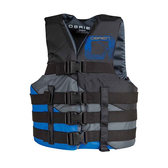 O'BRIEN MEN'S 4-BELT ADJ. SPORT LIFE JACKET