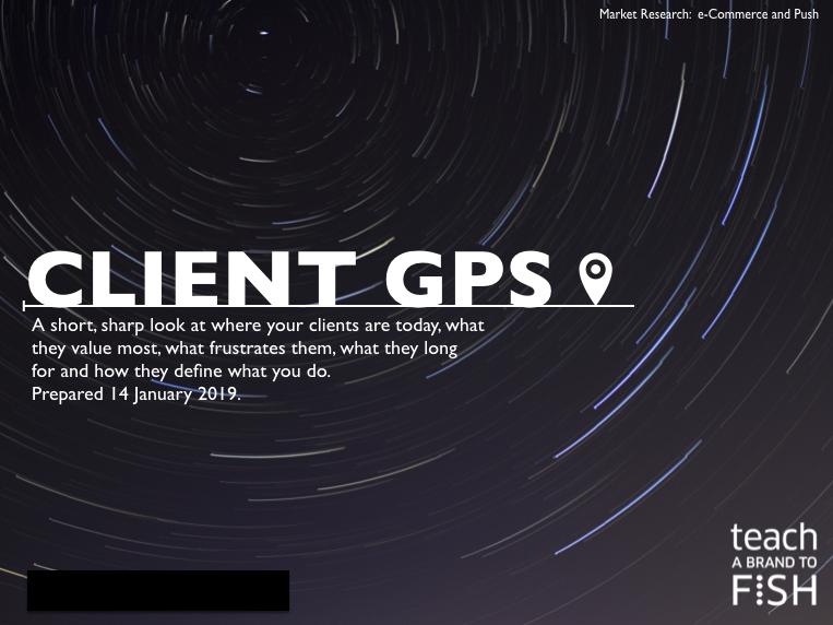 Market Research Client GPS