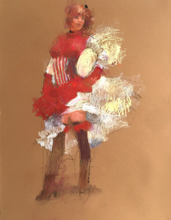 2019-03-01 Dancer in red