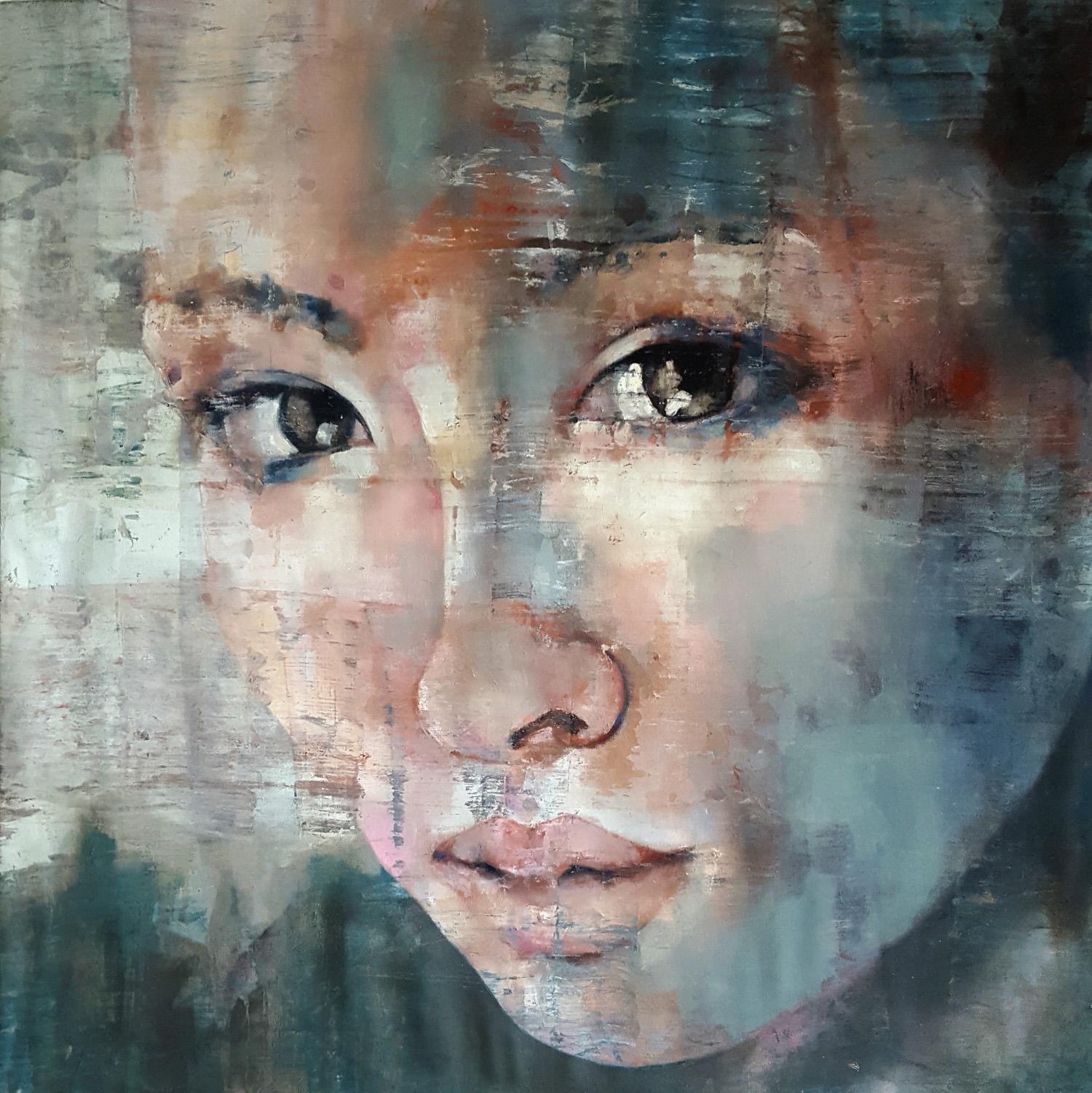 2-19-19-Head-oil-on-canvas-90x90cm