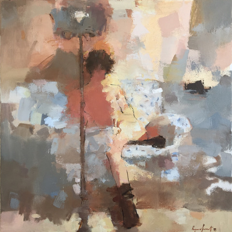 2019-03-04 The white couch  20x20 in