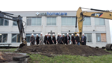 Construction Begins on VNA Homecare's New Operational Headquarters