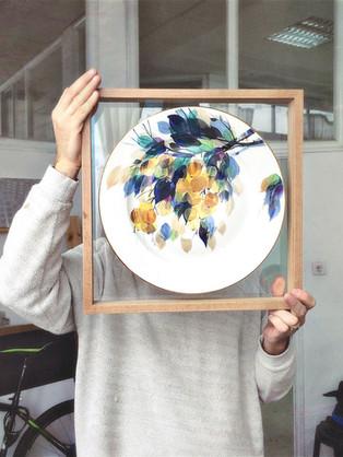 Double side Museum Glass | White Oak