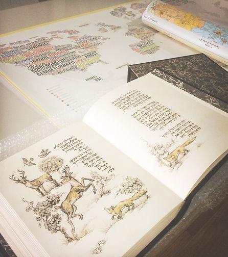 הדפסה וכריכה של ספר בעבודת יד