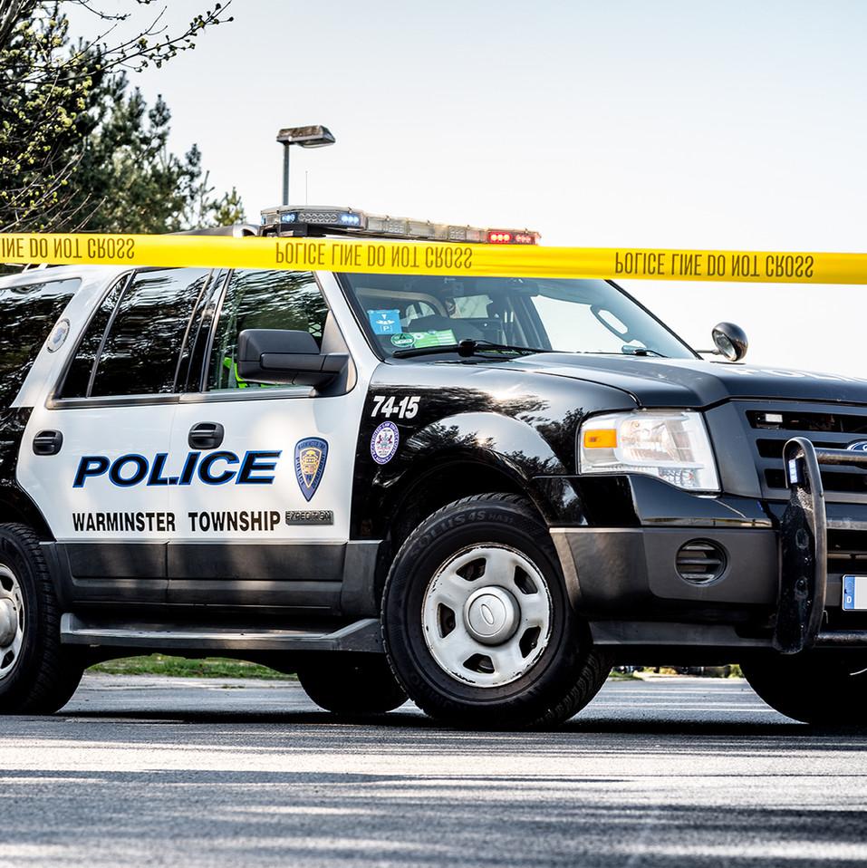 US Policecar Ford