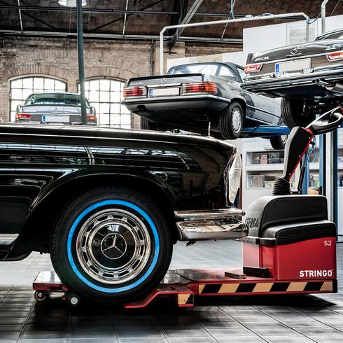 Classic Car Pagode Mercedes SL
