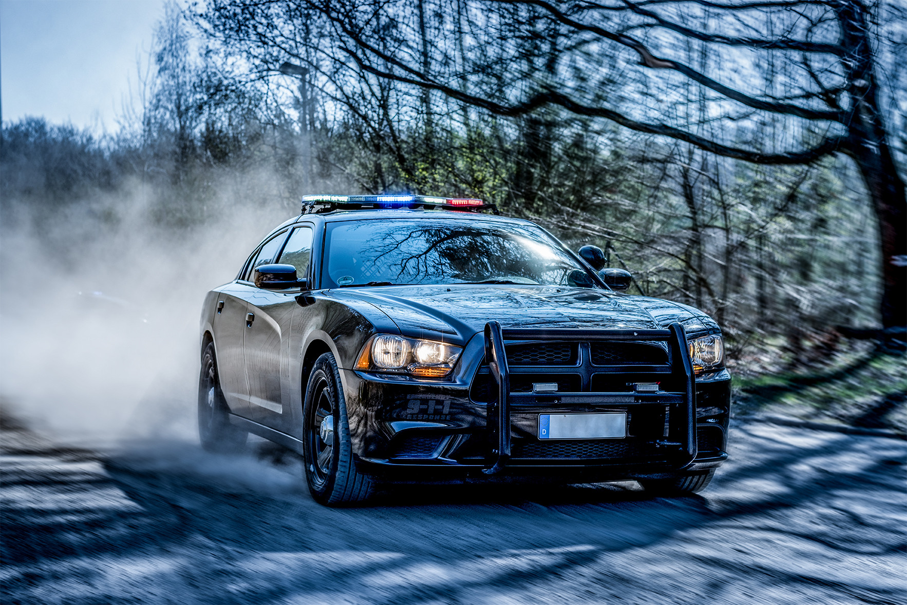 Police Dodge Charger black