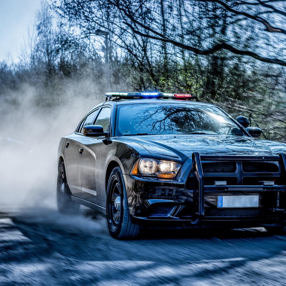 Police Dodge Charger black
