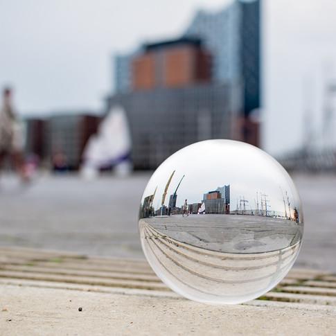 Kristallkugel in Hamburg
